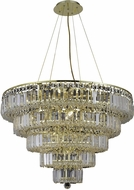 Elegant V2036D30G-RC Maxime Gold 30  Hanging Light