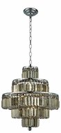 Elegant V2038D20C-GT-RC Maxime Chrome 20  Pendant Light Fixture