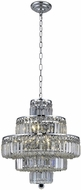 Elegant V2038D20C-RC Maxime Chrome 20  Pendant Lighting Fixture