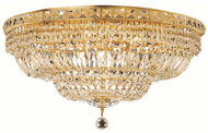 Elegant V2528F24G/RC Tranquil Gold Overhead Lighting Fixture