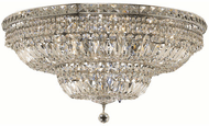 Elegant V2528F30C/RC Tranquil Chrome Ceiling Lighting