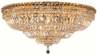 Elegant V2528F36G/EC Tranquil Gold Ceiling Lighting Fixture