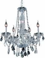 Elegant V7855D21C-RC Verona Chrome Mini Chandelier Light