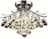 Elegant V8000F16C/RC Toureg Chrome 16  Flush Mount Lighting