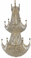 Elegant V8949G36G/RC Corona Gold Entryway Light Fixture