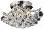 Elegant V9800F10C/RC Corona Chrome 10  Ceiling Lighting