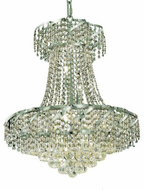 Elegant VECA1D22C/EC Belenus Chrome Foyer Lighting Fixture