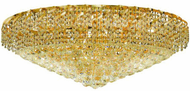Elegant VECA1F36G/RC Belenus Gold Overhead Lighting