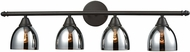 ELK 10274-4 Reflections Contemporary Oil Rubbed Bronze 4-Light Bathroom Light