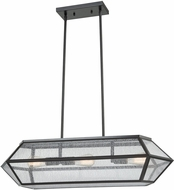 ELK 10354-3 Spencer Modern Oil Rubbed Bronze Island Lighting