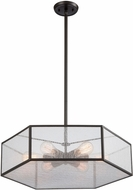 ELK 10355-6 Spencer Contemporary Oil Rubbed Bronze Pendant Light