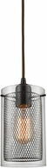ELK 10448-1 Brant Contemporary Oil Rubbed Bronze Mini Lighting Pendant