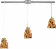 ELK 10460-3L-SF Abstractions Modern Satin Nickel Multi Pendant Light