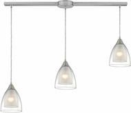 ELK 10464-3L Layers Modern Satin Nickel Multi Hanging Light Fixture
