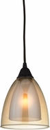 ELK 10474-1 Layers Contemporary Oil Rubbed Bronze Mini Ceiling Light Pendant