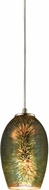 ELK 10506-1 Illusions Contemporary Satin Nickel Mini Ceiling Light Pendant