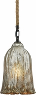 ELK 10641-1 Hand Formed Glass Oil Rubbed Bronze Mini Ceiling Pendant Light