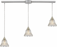 ELK 10680-3L Walton Contemporary Satin Nickel Multi Hanging Light Fixture