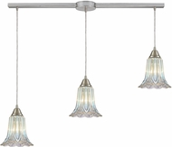 ELK 10685-3L Walton Contemporary Satin Nickel Multi Drop Lighting Fixture