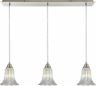 ELK 10685-3LP Walton Modern Satin Nickel Multi Pendant Lighting