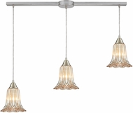 ELK 10695-3L Walton Contemporary Satin Nickel Multi Hanging Light