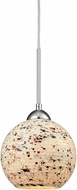 ELK 10741-1 Spatter Contemporary Polished Chrome Mini Hanging Pendant Lighting