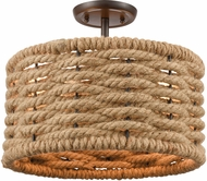 ELK 10756-2 Weaverton Modern Oil Rubbed Bronze Ceiling Lighting