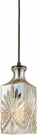 ELK 10800-1 Giovanna Contemporary Oil Rubbed Bronze Mini Hanging Pendant Lighting