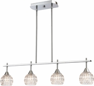 ELK 10825-4 Kersey Polished Chrome Halogen Kitchen Island Light