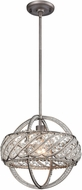 ELK 11093-1 Bradington  Weathered Zinc 13  Pendant Lamp