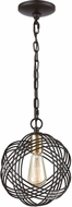 ELK 11192-1 Concentric Oil Rubbed Bronze / Satin Brass Mini Drop Lighting