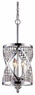 ELK 112333 Crystoria Small Foyer Pendant Light in Polished Chrome