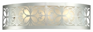 ELK 11432/3 Willow Bend 25 Inch Wide Polished Chrome Traditional Bathroom Light Fixture