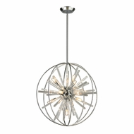 ELK 11562-10 Twilight Contemporary Polished Chrome Halogen Hanging Pendant Light