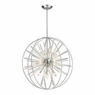 ELK 11563-15 Twilight Modern Polished Chrome Halogen Pendant Hanging Light