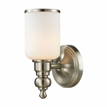 ELK 11580-1 Bristol Brushed Nickel Lamp Sconce