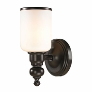 ELK 11590-1 Bristol Oil Rubbed Bronze Wall Sconce Lighting