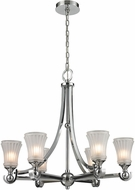 ELK 11686-6 Jayden Contemporary Polished Chrome Ceiling Chandelier