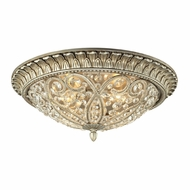 ELK 11694-4 Andalusia Aged Silver Ceiling Light Fixture