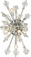 ELK 11747-4 Starburst Polished Chrome Wall Mounted Lamp