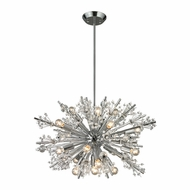 ELK 11751-19 Starburst Polished Chrome 26  Wide Chandelier Light