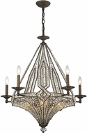 ELK 11785-5-5 Jausten Antique Bronze Chandelier Light