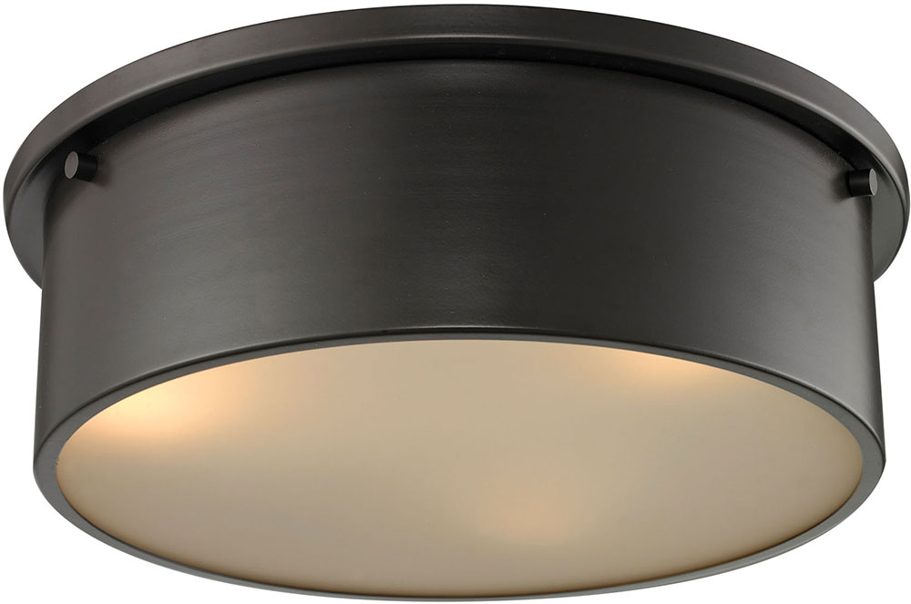 Elk 11811 3 simpson modern oil rubbed bronze flush ceiling light elk 11811 3 simpson modern oil rubbed bronze flush ceiling light fixture loading zoom aloadofball Image collections