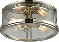 ELK 11850-2 Coby Contemporary Polished Nickel Flush Mount Lighting