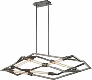 ELK 11861-6 Freeform Modern Dark Graphite Island Light Fixture