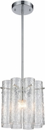 ELK 11911-1 Glass Symphony Modern Polished Chrome Foyer Lighting