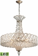 ELK 11925-8-LED Cumbria Aged Silver LED Hanging Pendant Lighting