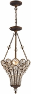 ELK 12032-3 Christina Mocha Foyer Lighting