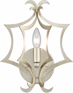 ELK 12060-1 Delray Contemporary Aged Silver Wall Sconce Lighting