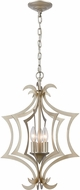ELK 12062-3 Delray Contemporary Aged Silver 15  Foyer Light Fixture
